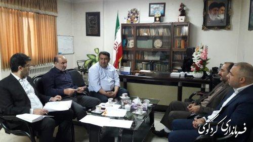 نهمین نشست هیاتتطبیق مصوبات شورای اسلامی شهر کردکوی برگزارشد