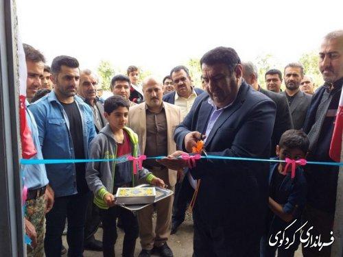 با حضور فرماندار و مسئولان شهرستان: بهره برداری از نخستین آکادمی کشتی در روستای سرکلاته کردکوی .
