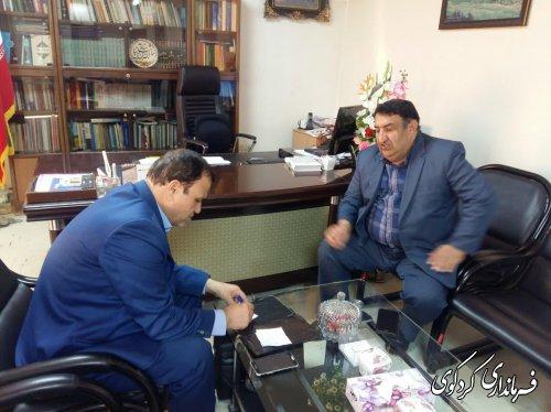 فرماندار کردکوی در گفتگو با خبرنگار هفته نامه صبح گلستان: نگرانی و نارضایتی مردم از متوقف شدن عملیات لایروبی رودخانه قره سو