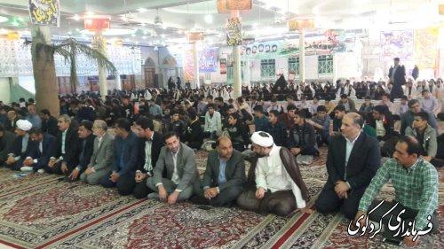 فرماندار کردکوی در دومین اجلاسیه نماز کردکوی: نماز سرچشمه زلال رسیدن به خداوند است.