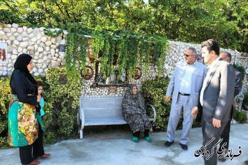 از کوچه شهید غلامحسن (جبار) مقدم واقع در محله ولاغوز شهر کردکوی