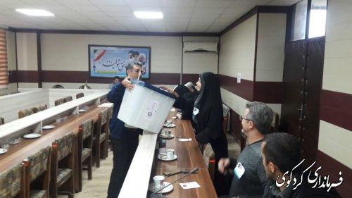 نخستین دوره انتخابات شورای توسعه و حمایت از سازمانهای مردم نهاد شهرستان کردکوی برگزارشد