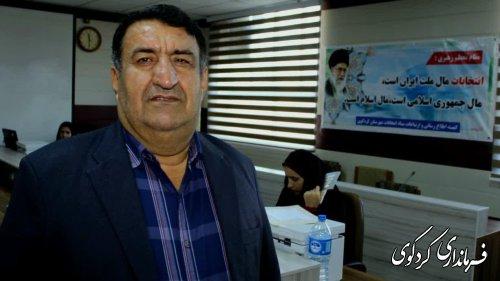 امروز 7 نفر دیگر از نامزدهای انتخاباتی در مرکزحوزه کردکوی  ثبت نام کردند