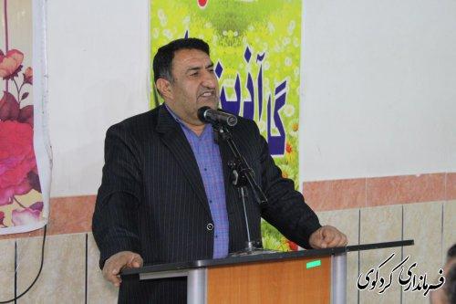 قدمنان فرماندارکردکوی: دانشجویان  در سرنوشت کشور خود تأثیرگذارند
