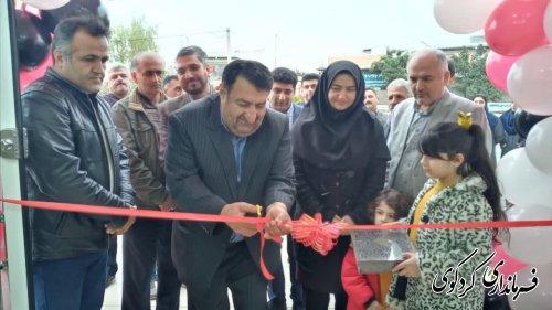 افتتاح فروشگاه مواد غذایی با حضور فرماندارکردکوی