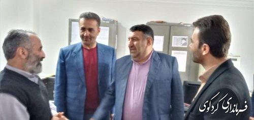 صبح امروز انجام شد: بازدید سر زده فرماندار کردکوی از اداره اوقاف شهرستان