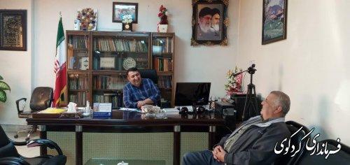 دیدار چهره به چهره فرماندار کردکوی با شهروندان