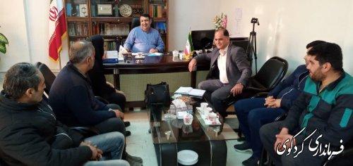 ملاقات عمومی تعدادی از شهروندان با فرماندار کردکوی
