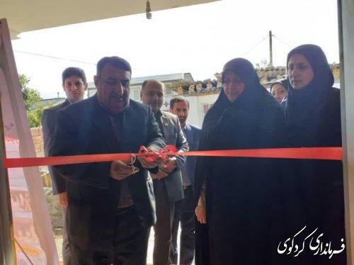 بهره برداری نمادین از ۷ پروژه عمرانی و اشتغالزایی کمیته امداد امام خمینی کردکوی