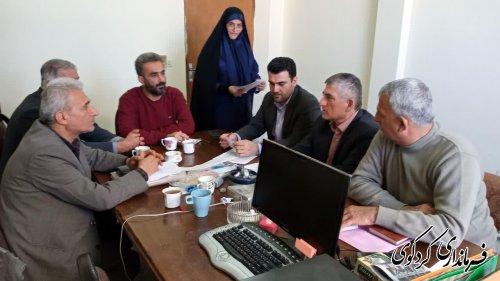 نشست  مشترک اعضای هیات اجرایی انتخابات کردکوی در راستای بررسی نهایی تجهیزات و امکانات رای گیری برگزار شد