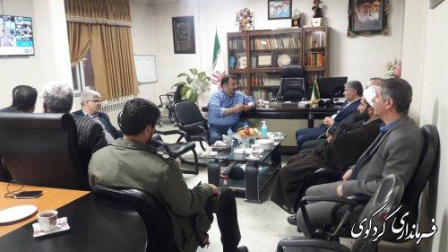 حضور مدیرکل اطلاعات استان در ستاد انتخابات فرمانداری کردکوی