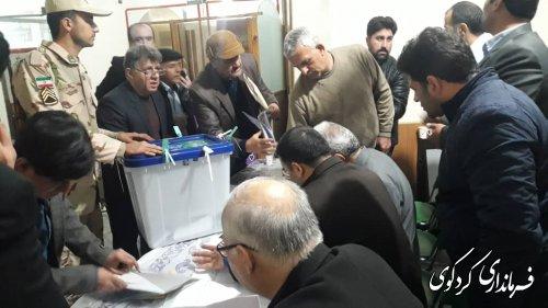 پایان مهلت اخذ رای و تحویل صندوقها به هیئت های اجرائی و نظارت مستقر در فرمانداری