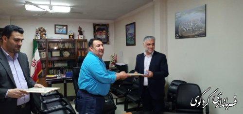 تقدیر فرماندار کردکوی از هیات نظارت و اجرایی انتخابات شهرستان