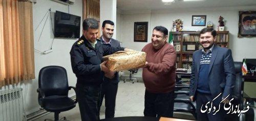 تقدیراز فرمانده انتظامی شهرستان کردکوی