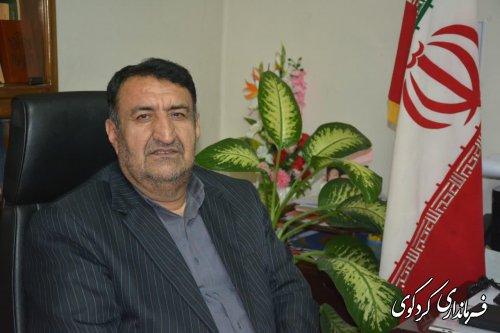 قدمنان فرماندار کردکوی: مردم به دستورات مقامات مسئول در مدیریت بحران شهرستان توجه کنند.