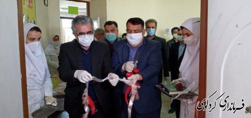 بهره برداری از نخستین کارگاه تولید ماسک بهداشتی در آموزش و پرورش