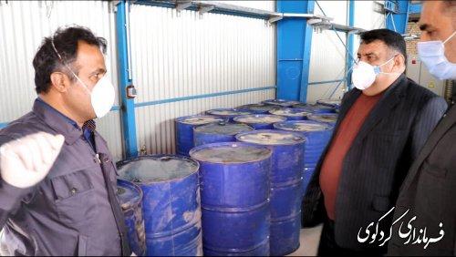 فرماندار و رئیس شورای تامین کردکوی:5هزار الکل در کردکوی  کشف شد