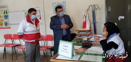 """فرماندار کردکوی: اجرای طرح """"هاتفان امید"""" برای 95 درصد مردم شهرستان"""