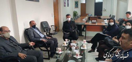 سرپرست مدیریت آب منطقه ای استان  با قدمنان فرماندارکردکوی دیدار و گفتگو کردند.