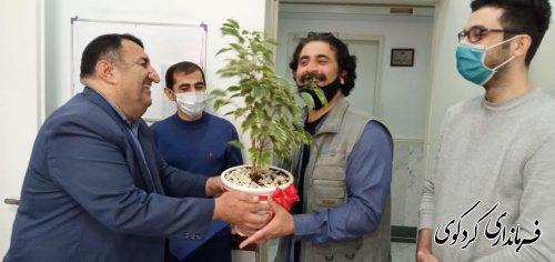 فرماندارکردکوی  ایام ماه مبارک رمضان و روز رادیو به کارشناسان و کارکنان  معاونت صدا مرکز گلستان تبریک گفتند
