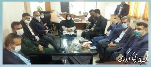 نخستین جلسه شورای اداری استان گلستان  به ریاست دکتر حق شناس بصورت ویدئو کنفرانس  با فرمانداران شهرستانها برگزار شد.