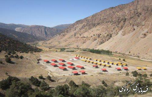 بازدید و پبگیری فرماندارکردکوی از مشکلات روستاهای کوهپایه/ توزیع ۱۰۰ بسته معیشتی به روستاهای کوهپایه