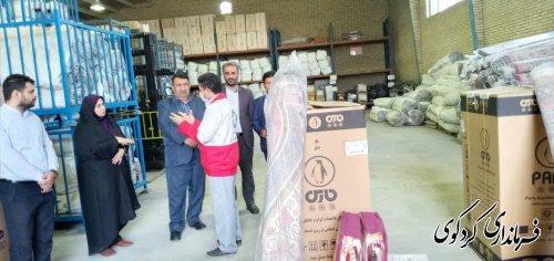 مردم به هلال احمر اعتماد دارند/اهدای پک لوازم خانگی به سیلزدگان شهرستان