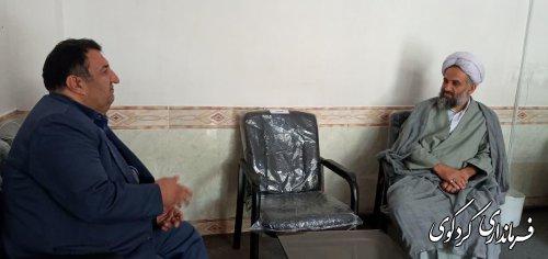 فرماندار در دیدار با ائمه جمعه سابق و فعلی شهرستان کردکوی: خدمت به مردم و جلب رضایت آنان یک وظیفه است.