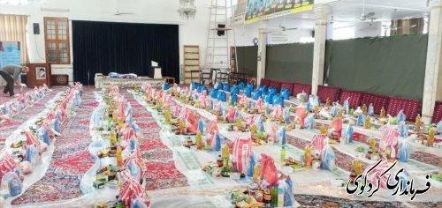 ۱۶۰ بسته کمک معیشتی در بین مستمندان سطح شهرستان توزیع شد