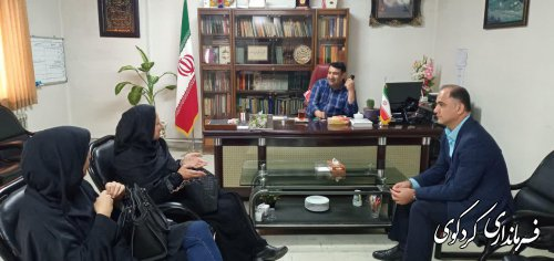 دیدار چهره به چهره امروز شهروندان با فرماندرکردکوی برگزار شد.