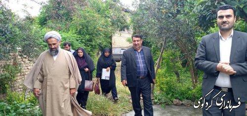 به مناسبت گرامیداشت سوم خرداد از همسر شهید بیدرنامنی تجلیل و قدردانی شد