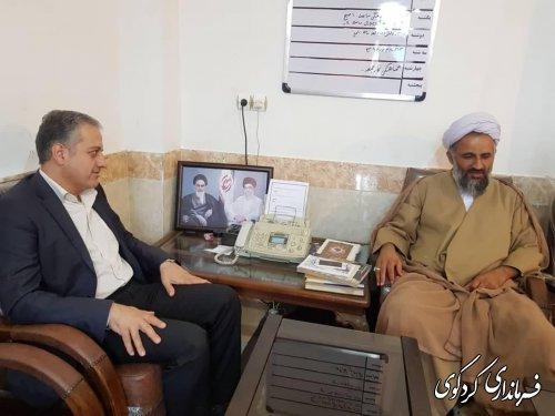 مهندس چراغعلی معاون سیاسی امنیتی استاندار کردکوی: ائمه جمعه شهرستانهامحور های اصلی ارتباط مردم با دولت هستند.