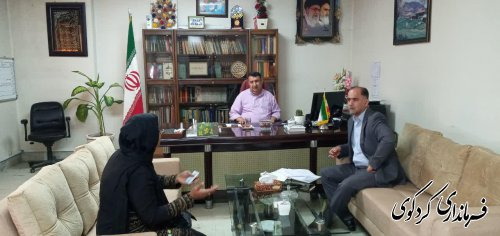دیدار فرماندار کردکوی با تعدادی از شهروندان شهرستان کردکوی