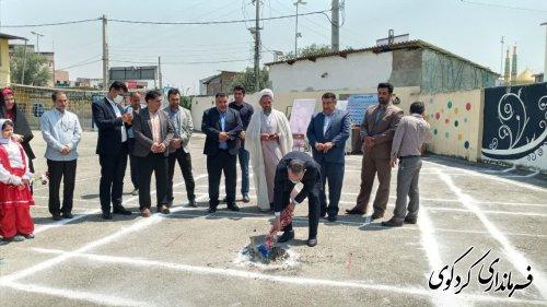 فرماندار کردکوی : کلنگ ساخت یک واحد تجاری با  ۷۰۰ میلیون تومان  اعتبار در شهر کردکوی زده شد.
