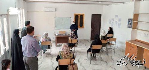 بیدلی بهنگام بازدید از مرکز آموزفنی و حرفه ای خواهران کردکوی:  نقش بانوان در زمینه ایجاد اشتغال پایدار نباید نادیده گرفته شود.