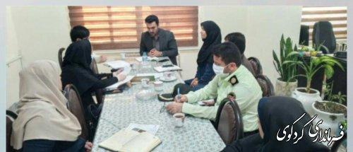 تشکیل ستادنظارت  بر اجرای پروتکلهای بهداشتی در کردکوی