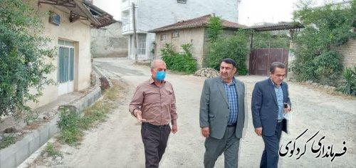 زیرسازی و اسفالت خیابانهای مطهری ،سردار جنگل و نواب روستای بالاجاده در حال اجرا می باشد
