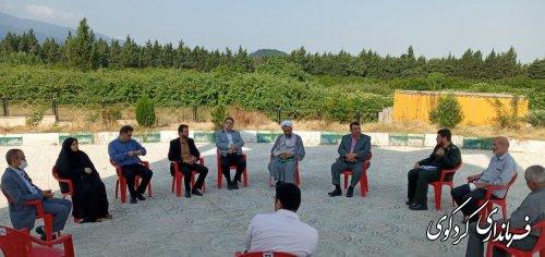 نخستین نشست ساماندهی یادمان شهدای کردکوی برگزارشد