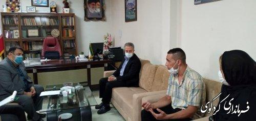 تعدادی از شهروندان بصورت جداگانه با معاون سیاسی استاندار و فرماندار کردکوی دیدار کردند