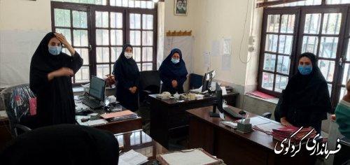 ابراهیم قدمنان فرماندار کردکوی با مدیر و کارکنان بخشهای مختلف اداره بهزیستی از نزدیک دیدارکرد