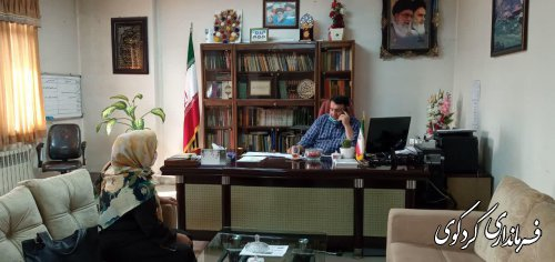 دیدار چهره به چهره امروز سه شنبه شهروندان با فرماندارکردکوی برگزار شد.