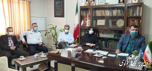 فرماندار در نشست شورای اداری استان که بصورت ویدئو کنفرانس و به ریاست استاندار گلستان
