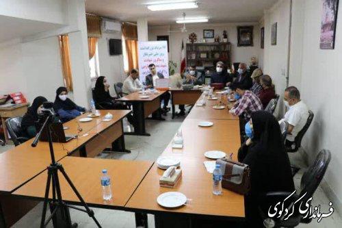 ابراهیم قدمنان فرماندار کردکوی؛خبرنگاران و رسانه ها چشم بینا ، زبان گویا و اندیشه پویای جامعه هستند.