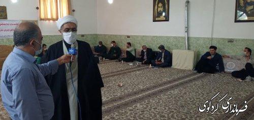 نخستین نشست شورای هماهنگی و نظارت برنامه های مراسم محرم ۹۹ در شهرستان برگزارشد