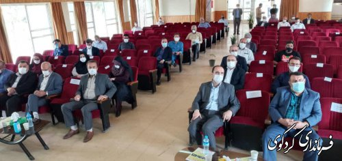 با حضور فرماندار کردکوی و مدیران استانی: بهره برداری از تنها هنرستان کشاورزی استان آغاز شد.