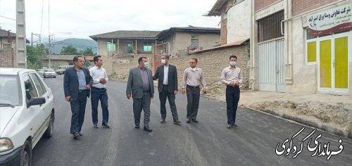 اجرای طرح هادی روستای نامن با اعتبار ۱۶۰ میلیون تومان در هفته دولت به بهره برداری می رسد.