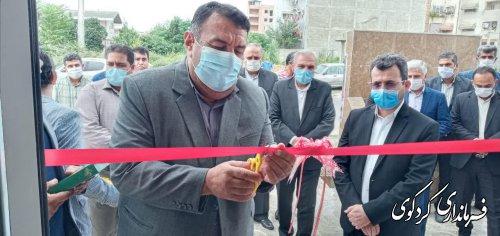 بهره برداری از دو پروژه مهم در شهر و روستا شهرستان کردکوی بصورت متمرکز آغاز شد .