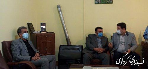 فرماندارکردکوی به صورت سر زده از امور آب و میراث فرهنگی ، گردشگری و صنایع دستی  شهرستان بازدید کردند