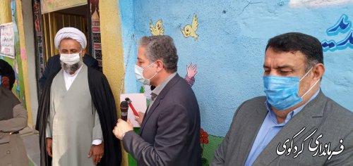 با حضور معاون سیاسی امنیتی استاندار  زنگ بازگشایی مدارس  به صدا در آمد.
