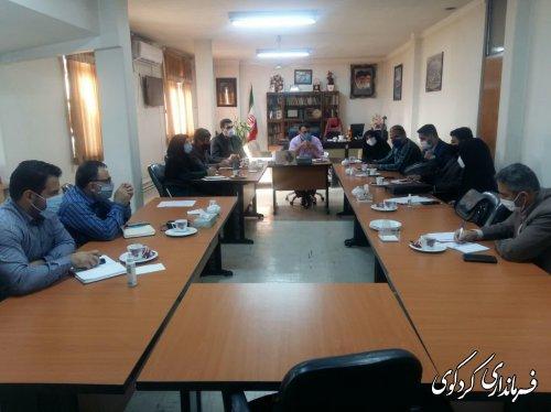 نشست مشترک کمیته های فن اوری استان و حوزه انتخابیه غرب استان  در کردکوی برگزارشد